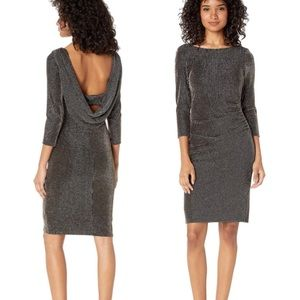 BEBE 3/4 Sleeve Cocktail Dress